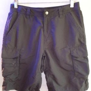 REI grey shorts sporty activewear nylon sz…